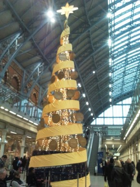 The Golden tree in St Pancras