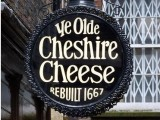 Ye Olde Cheshire Cheese sign