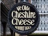Ye Olde Cheshire Cheese sign