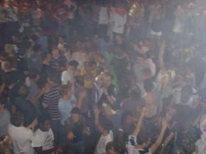 Clubbers in Fabric nightclub