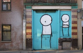 Street art by Stik