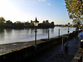 Riverside in Hammersmith