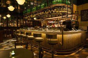 whiskey bar, american restaurant