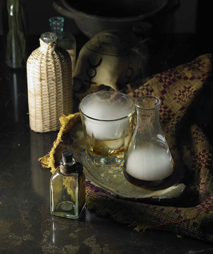 Smokey Old Fashioned The Alchemist